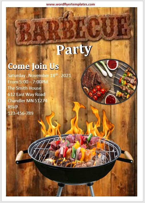 Party Invitation Flyer Tem
